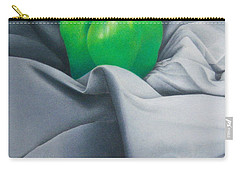 Simply Green Carry-all Pouch by Pamela Clements