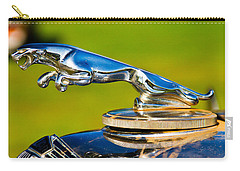 Simply Jaguar-front Emblem Carry-all Pouch by Eti Reid