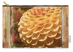 Simply Moments - Flower Art Carry-all Pouch by Jordan Blackstone