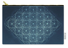 Sine Cosine And Tangent Waves Carry-all Pouch by Jason Padgett