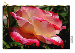 Single Rose Carry-all Pouch by Pamela Walton