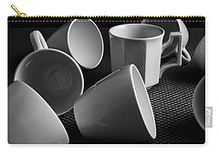 Carry-all Pouch featuring the photograph Singled Out - Coffee Cups by Steven Milner