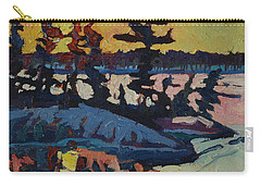 Singleton Sunset Carry-all Pouch by Phil Chadwick