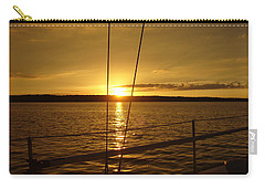 Carry-all Pouch featuring the photograph Stay Golden by Deena Stoddard