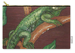 Sir Iguana Carry-all Pouch