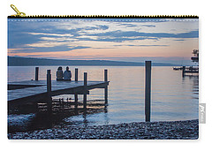 Sisters - Lakeside Living At Sunset Carry-all Pouch