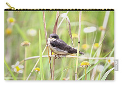 Carry-all Pouch featuring the photograph Sitin' Pretty by Elizabeth Winter