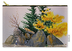 Carry-all Pouch featuring the painting Sitka Isle by Teresa Ascone