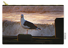 Sittin On The Dock Of The Bay Carry-all Pouch by David Dehner