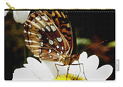 Carry-all Pouch featuring the photograph Sitting Pretty  by James C Thomas