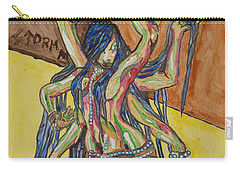 Six Armed Goddess Carry-all Pouch by Stormm Bradshaw