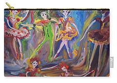 Six Eight Waltz Carry-all Pouch by Judith Desrosiers