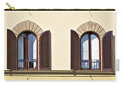 Six Windows Of Florence Carry-all Pouch