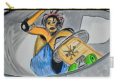 Skate Or Die Carry-all Pouch by J Anthony
