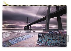 Vasco Da Gama Bridge Carry-all Pouches