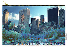 Skating Fantasy Wollman Rink New York City Carry-all Pouch