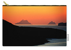 Skellig Islands  Carry-all Pouch by Aidan Moran