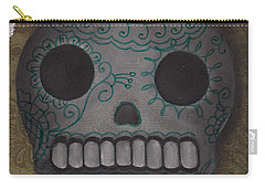 Skelly With A Heart Carry-all Pouch