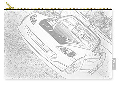 Sketched S2000 Carry-all Pouch by Eric Liller