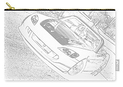 Sketched S2000 Carry-all Pouch