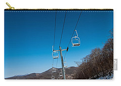 Ski Lift Carry-all Pouch by Alex Grichenko