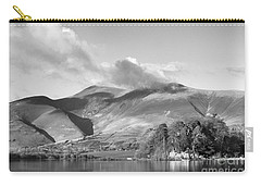 Skiddaw And Friars Crag Mountainscape Carry-all Pouch by Linsey Williams