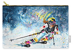 Skiing 03 Carry-all Pouch