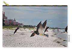 Black Skimmers At Don Cesar Carry-all Pouch