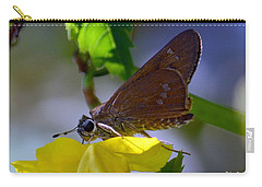 Carry-all Pouch featuring the photograph Skipper Butterfly by Debra Martz