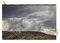 Skirting The Storm Carry-all Pouch by Joan Davis