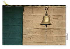 Carry-all Pouch featuring the photograph Skc 0005 A Doorbell by Sunil Kapadia