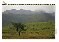 Skc 0053 A Solitary Tree Carry-all Pouch by Sunil Kapadia