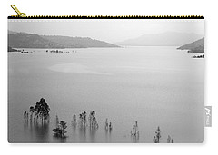 Carry-all Pouch featuring the photograph Skc 0055 A Hazy Riverscape by Sunil Kapadia