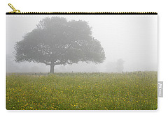 Carry-all Pouch featuring the photograph Skc 0056 Tree In Fog by Sunil Kapadia