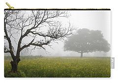 Skc 0058 Contrasty Trees Carry-all Pouch by Sunil Kapadia