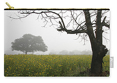 Carry-all Pouch featuring the photograph Skc 0060 Framed Tree by Sunil Kapadia
