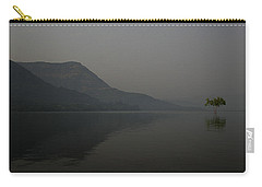 Carry-all Pouch featuring the photograph Skc 0086 Solitary Isolation by Sunil Kapadia