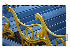 Skc 0246 The Garden Benches Carry-all Pouch by Sunil Kapadia
