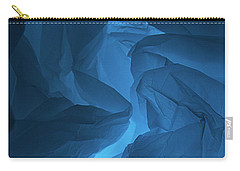 Skc 0247 A Mystery In Blue Carry-all Pouch by Sunil Kapadia
