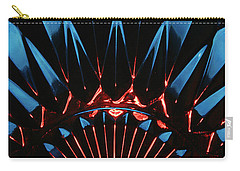 Carry-all Pouch featuring the photograph Skc 0269 Cut Glass by Sunil Kapadia