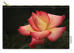 Skc 0432 Blooming And Blossoming Carry-all Pouch by Sunil Kapadia