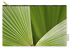 Carry-all Pouch featuring the photograph Skc 0691 The Paths Of Palm Meeting At A Point by Sunil Kapadia