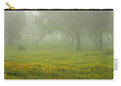 Skc 0835 Romance In The Meadows Carry-all Pouch by Sunil Kapadia