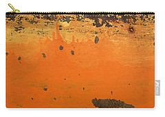Carry-all Pouch featuring the photograph Skc 1505 Peeled Paint by Sunil Kapadia