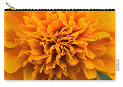 Skunk Flower Orange Carry-all Pouch