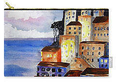Sky At Dusk  Carry-all Pouch by Carlin Blahnik