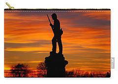 Sky Fire - 128th Pennsylvania Volunteer Infantry A1 Cornfield Avenue Sunset Antietam Carry-all Pouch