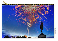 Sky Fire - Pennsylvania At Antietam - 132nd Pa Volunteer Infantry July 4th 2014 - 1b Carry-all Pouch