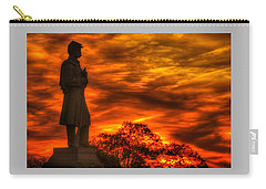 Sky Fire - West Virginia At Gettysburg - 7th Wv Volunteer Infantry Vigilance On East Cemetery Hill Carry-all Pouch
