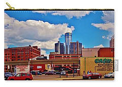 Skyline From The Inside... Detroit Carry-all Pouch